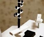 Hlavní stožár s imitacemi světel